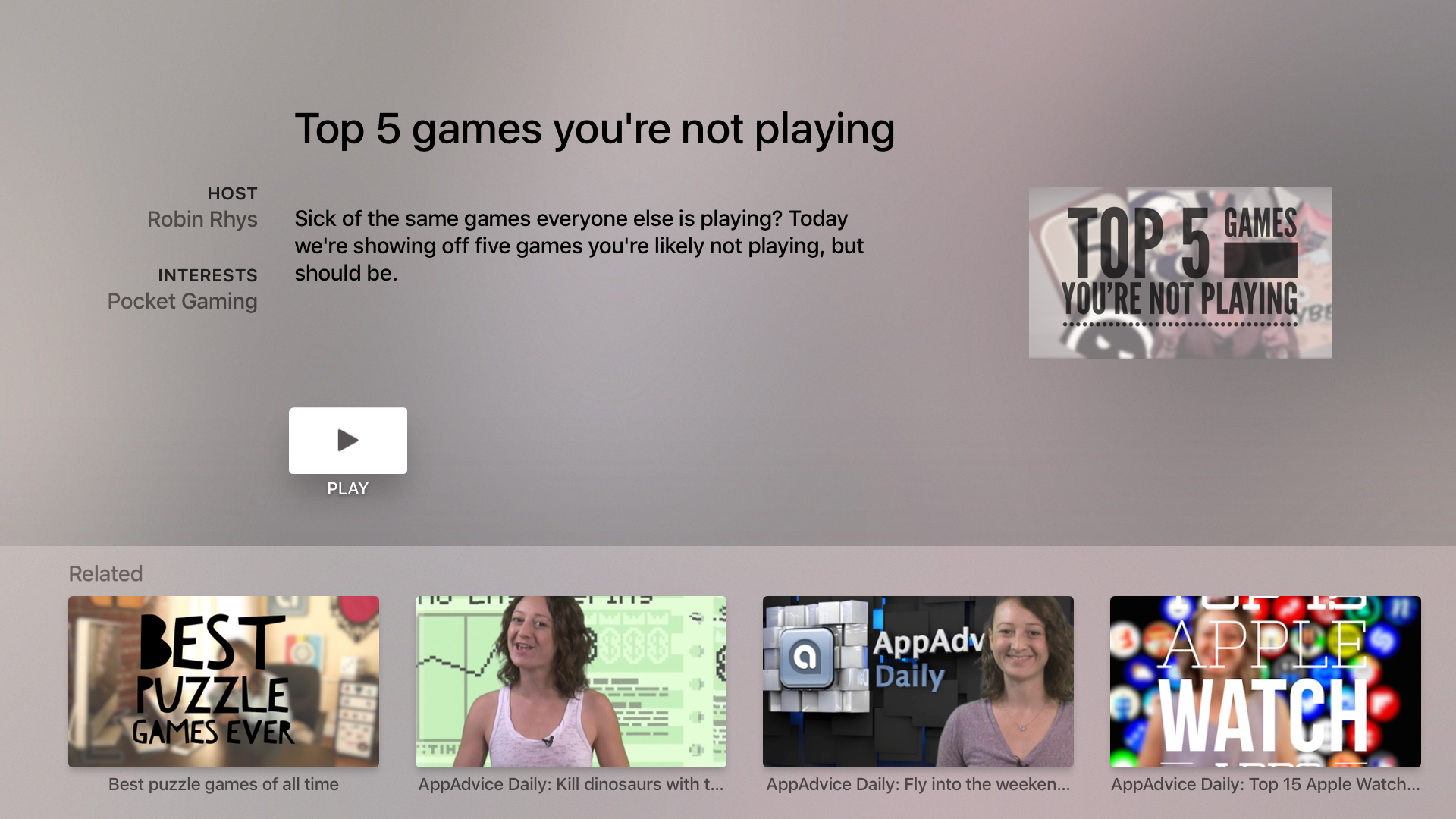 NowGAMING - The Top Game Previews, Trailers, Cheats & App Advice screenshot 3