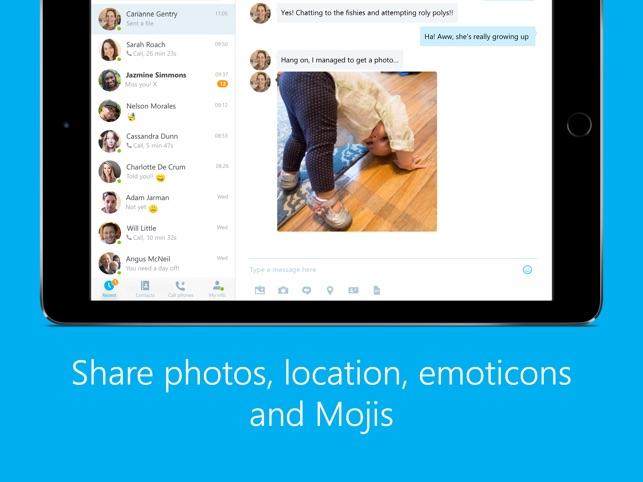 Skype for ipad on the app store stopboris Gallery