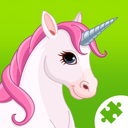 Cute Ponies & Unicorns Jigsaw Puzzles : free logic game for toddlers, preschool kids and little girls