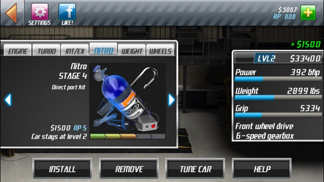 Drag Racing Classic Screenshot