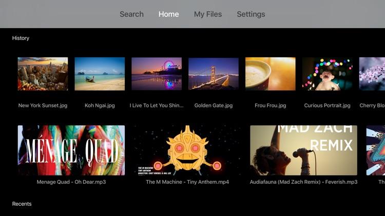 File Streaming on Apple TV
