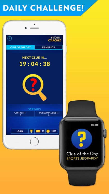 Sports Jeopardy! - Quiz game for fans of football, basketball, baseball, golf and more
