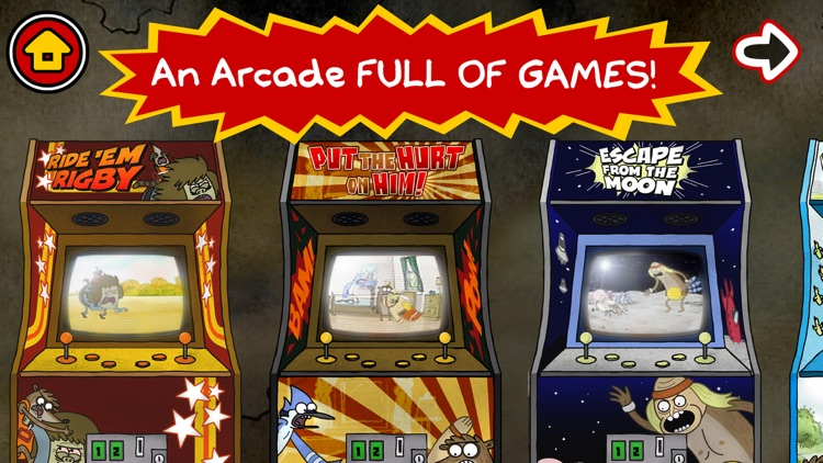 Just a Regular Arcade – A Sweet Suite of Regular Show Games With Mordecai and Rigby screenshot-0