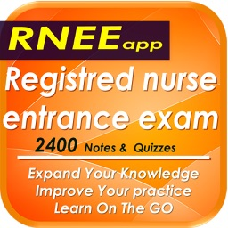 Registred Nurse Entrance Exam RNEE: 2400 Flashcards