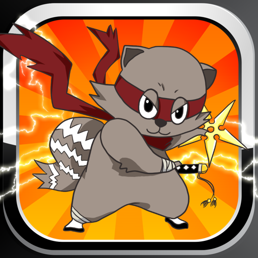 Raccoon Ninja: Basic Addition and Subtraction Games for Kids