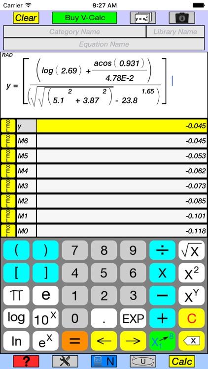 V-Calc Lite screenshot-0