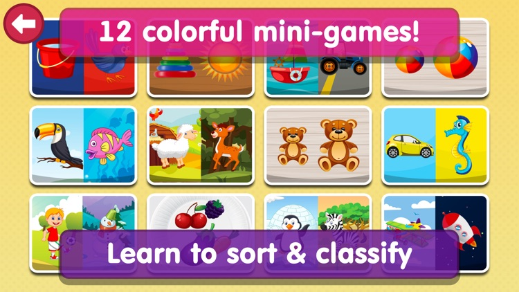 Smart Baby Sorter HD - Early Learning Shapes and Colors / Matching and Educational Games for Preschool Kids