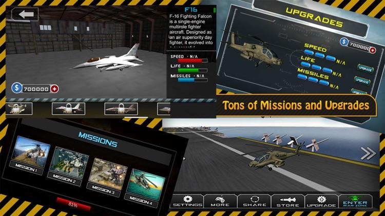 Gunship Heli Warfare Battle Game free