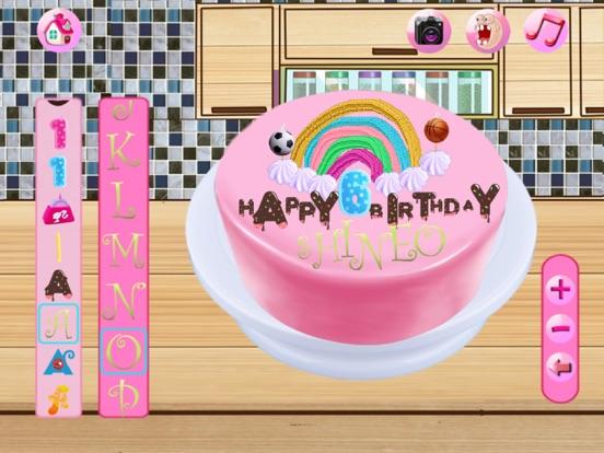 крем для торта сборки:приготовление игры для детей сока,печенье,пирог,кексы,коктейль и индейки & конфеты истории хлебопекарной HD на iPad