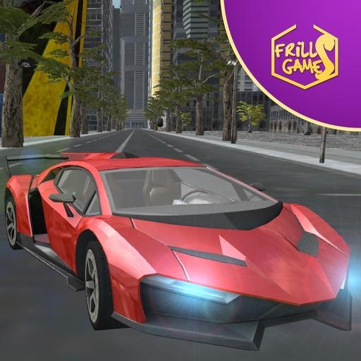 Быстрый автомобиль симулятор вождения по скорости расы