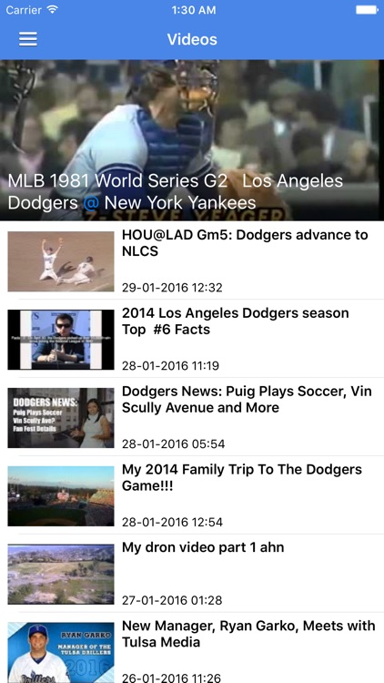 News Surge for Dodgers Baseball News Free Edition screenshot-4