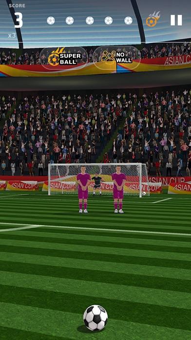 フリーキックアジアカップ2016のスクリーンショット1