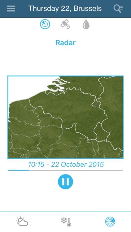 Weather for Belgium Pro screenshot-3