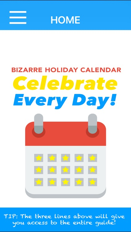 Bizarre Holidays Calendar Celebrate Every Day