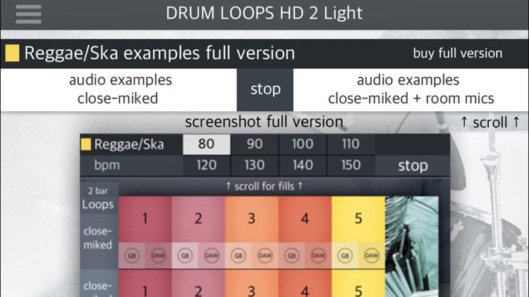 Drum Loops HD 2 Light screenshot-4
