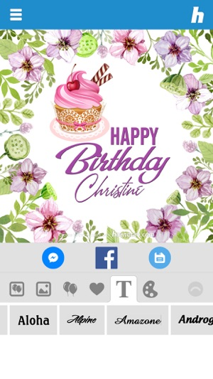 Happy Birthday Card Maker 4