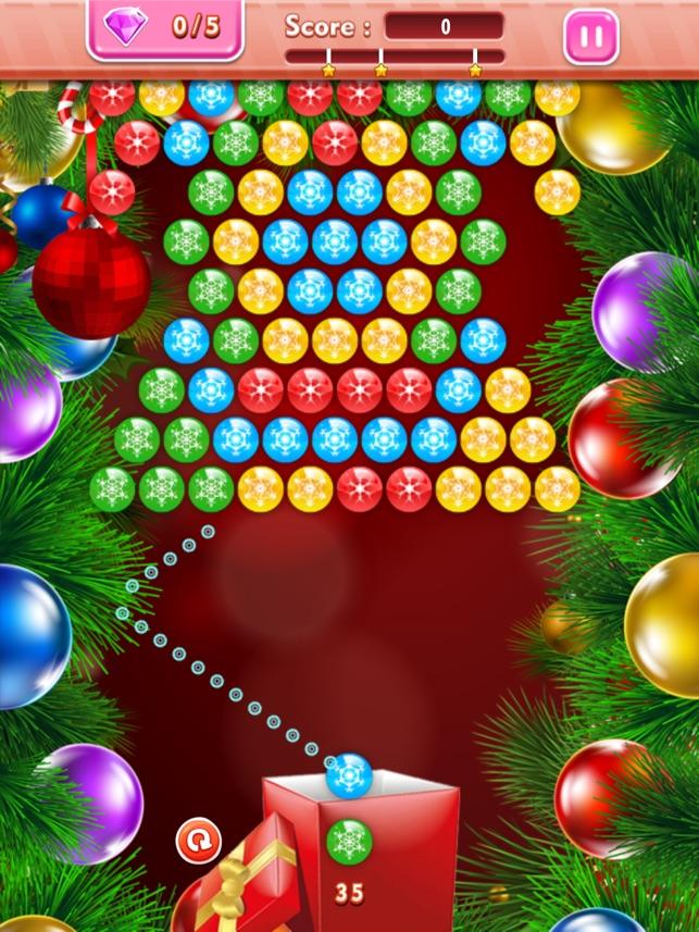 Blase Weihnachten - Kostenlose Puzzle-Spiel Bubble Shooter Saga ...