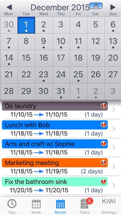 Task and Cal : Easily Manage your Tasks and Calendar screenshot-3