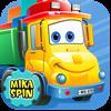 """Mika """"Dumper"""" Spin - dump truck games for kids - Bogdan Miryuk Cover Art"""