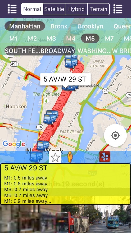 My NYC Next Bus Real Time Pro - Public Transportation Directions and Trip Planner screenshot-4