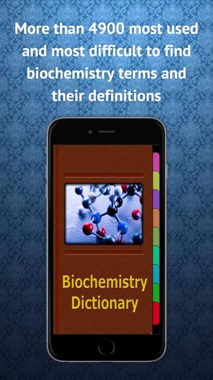Biochemistry Dictionary