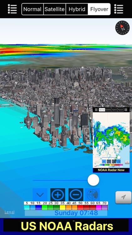 US NOAA Radars 3D screenshot-4