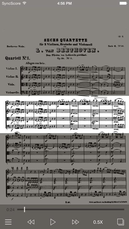 Beethoven Complete String Quartets - SyncScore screenshot-0