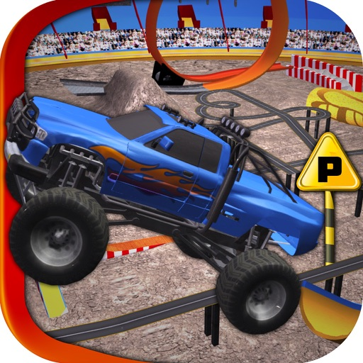 Extreme Monster Truck 3d Parking