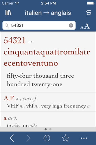Italian-English Translation Dictionary and Verbs screenshot 3