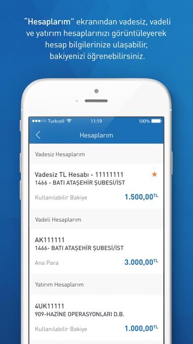 Halkbank Mobil screenshot