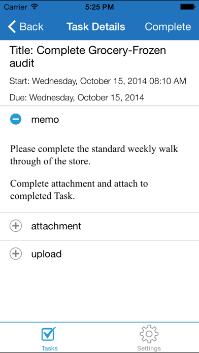 JDA Task Executionのスクリーンショット3