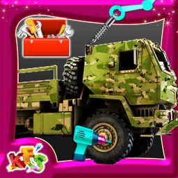 Build an Army Truck – Build & fix vehicle mania