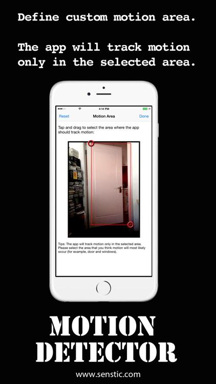 Motion Detector screenshot-3