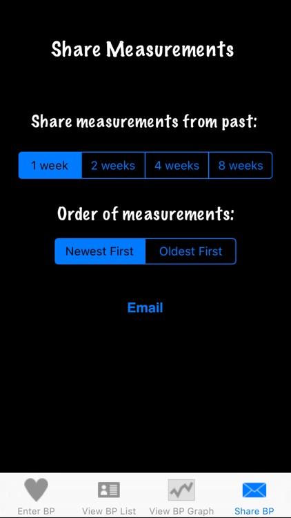 Easy Blood Pressure screenshot-3