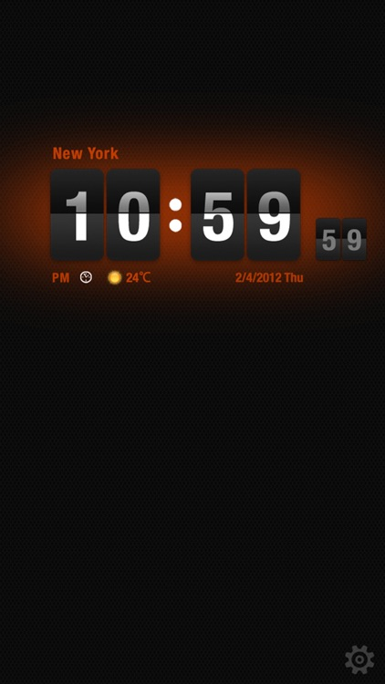 Flip Clock HD screenshot-2
