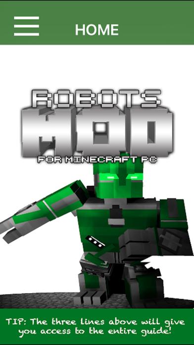 Robots Mod For Minecraft PCのおすすめ画像1