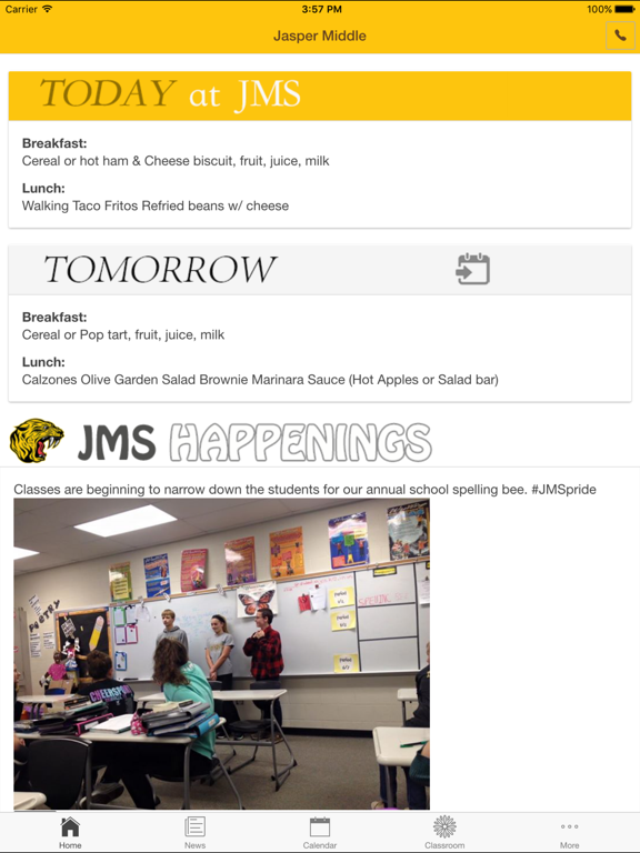 Jasper Middle School - Indiana | App Price Drops