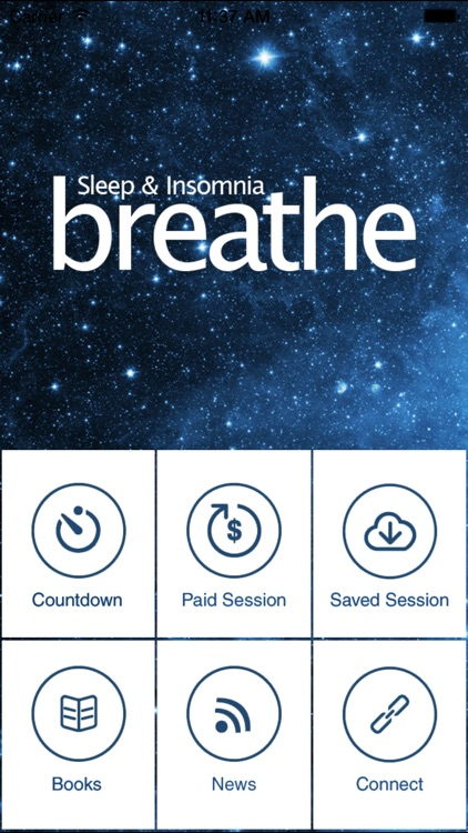 Breathe Sleep Meditation – The Ultimate Guided Sleep Meditation Series screenshot-0