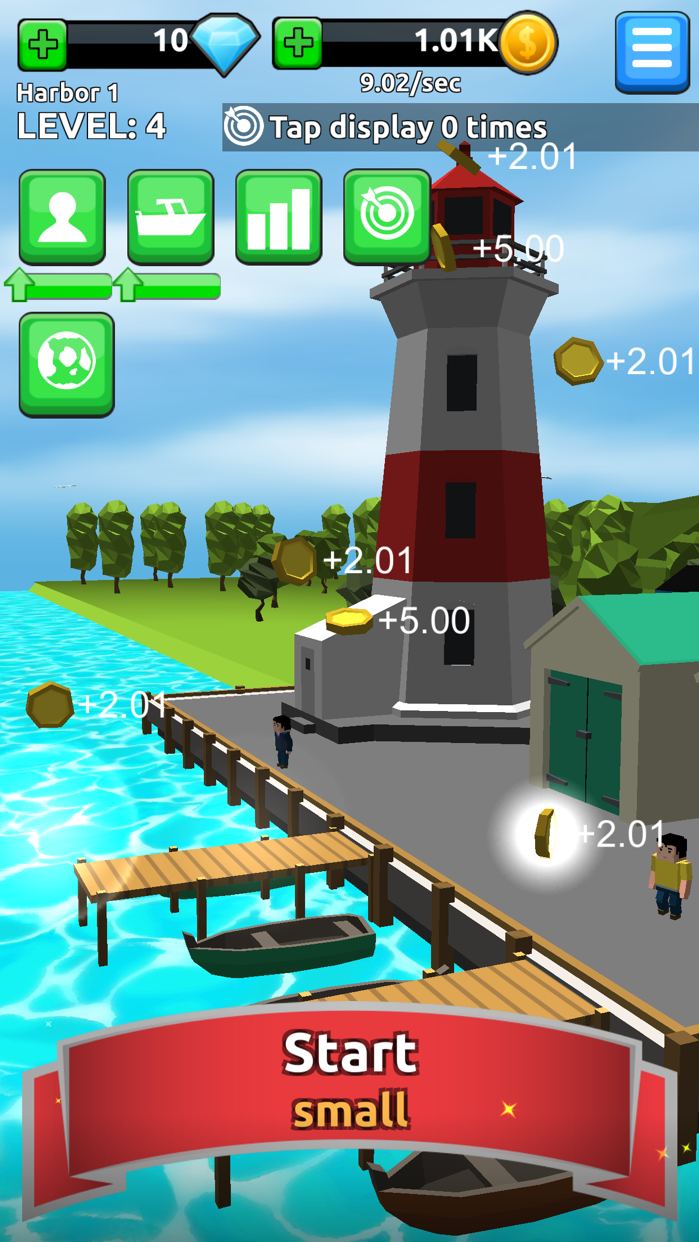 Harbor Tycoon Clicker Screenshot