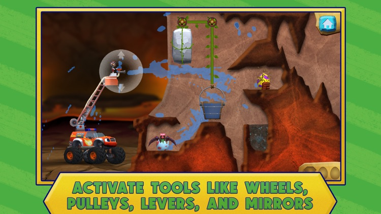 Blaze: Dinosaur Rescue screenshot-3