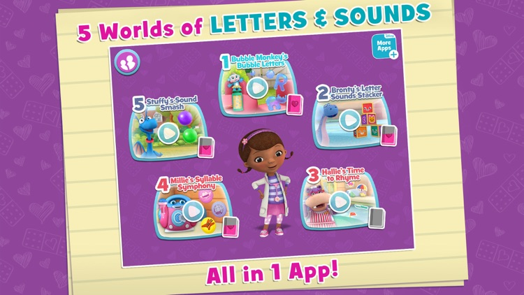 Read with Doc: Letters and Sounds screenshot-0