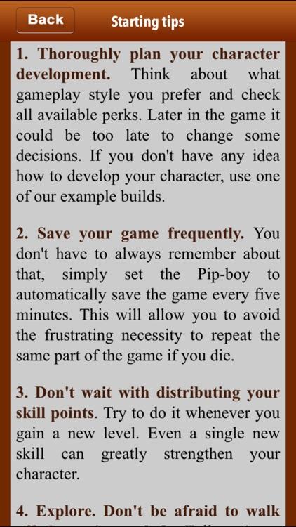 Expert Guide For Fallout 4 screenshot-3