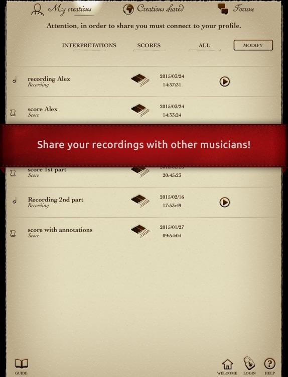 Play Mozart – Symphony No. 40 in G minor – 1st movement Molto allegro (interactive violin sheet music) screenshot-3