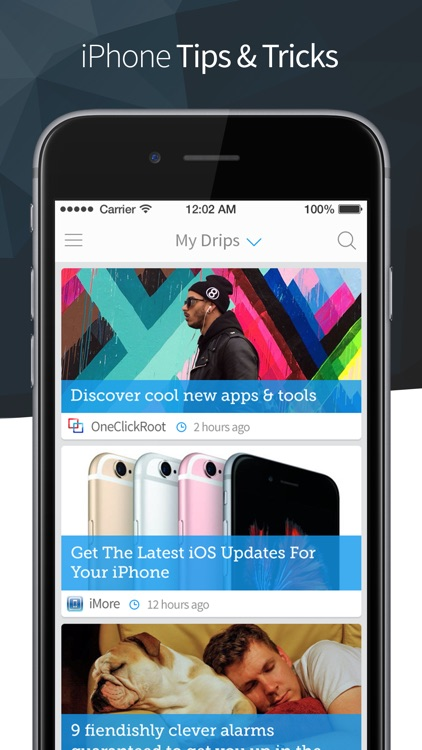 Drippler: Discover Apps & Tips screenshot-1