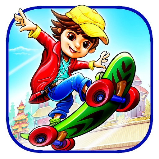 Crazy Skater Kid - Freestyle Skateboarding Game iOS App