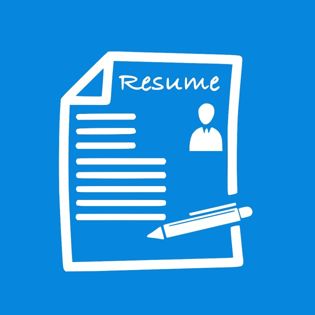 Free Resume Builder App   Professional CV Maker And Resumes Designer On The  App Store