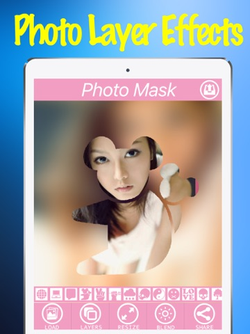 Photo Layer Effects Free App - Mask charlotte Filter Effect On Camera Photos-ipad-2
