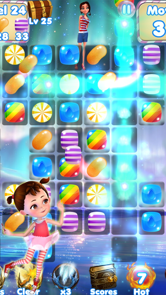 Candy Girl Mania - Match and Pop the gummy jewels! Screenshot