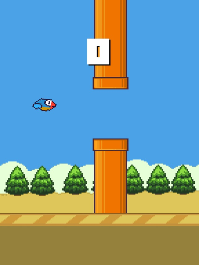 Blue Bird - Impossible Game, game for IOS