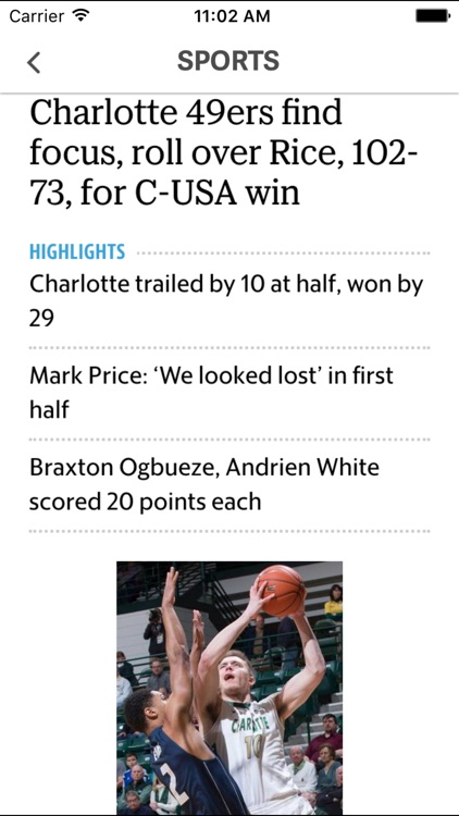 Charlotte News screenshot-4